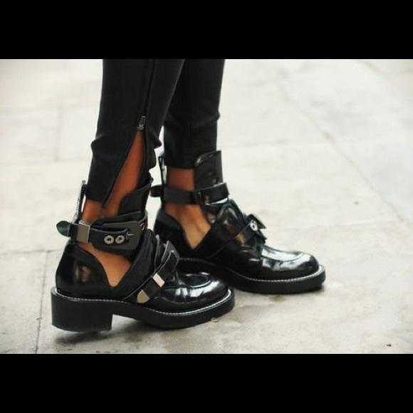 84238304bbe Balenciaga Shoes - Balenciaga Ceinture Cut-Out Boots